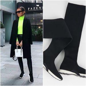 NWT Zara Extra Long Sports Socks